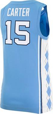 Nike Youth Vince Carter North Carolina Tar Heels #15 Carolina Blue Replica Basketball Jersey product image