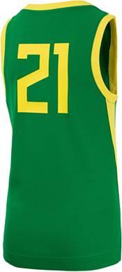 Nike Youth Oregon Ducks #21 Green Replica Basketball Jersey product image