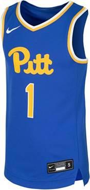Nike Youth Pitt Panthers #1 Blue Replica Basketball Jersey product image