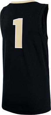 Nike Youth Purdue Boilermakers #1 Black Replica Basketball Jersey product image