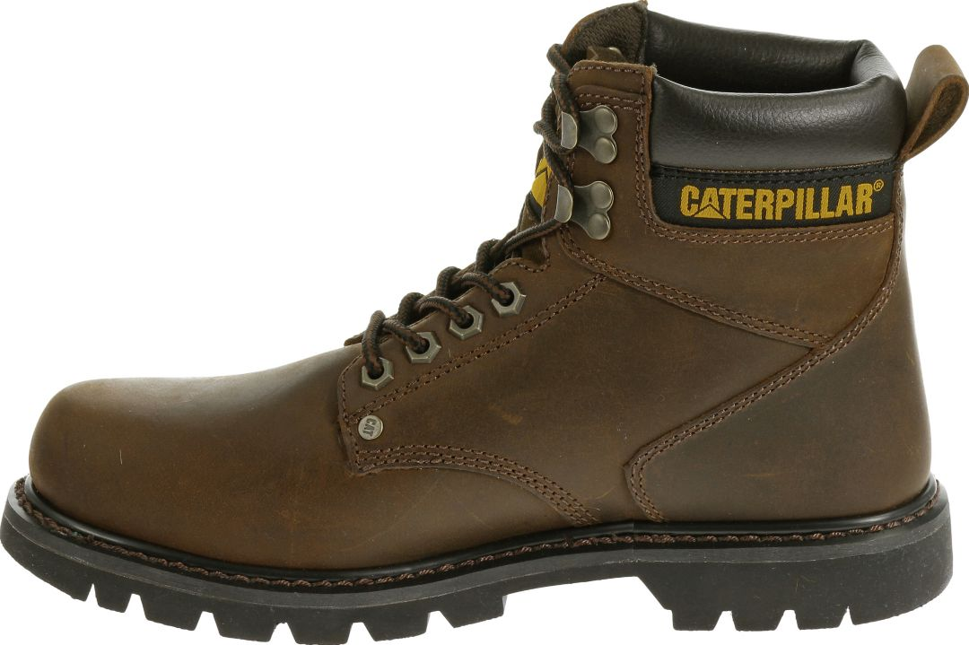 668de68f3b5 CAT Men's Second Shift Steel Toe EH Work Boots