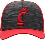 Top of the World Men's Cincinnati Bearcats Grey/Red Pepper 1Fit Flex Hat product image