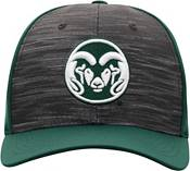 Top of the World Men's Colorado State Rams Grey/Green Pepper 1Fit Flex Hat product image