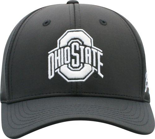 df71312b845dd OSU Men s Ohio State Buckeyes Phenom 1Fit Flex Black Hat