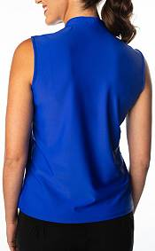 SwingDish Women's Polly Sleeveless Golf Polo product image
