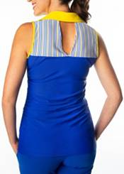 SwingDish Women's Melissa Keyhole Sleeveless Golf Polo product image