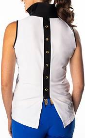 SwingDish Women's Harper Sleeveless Golf Polo product image