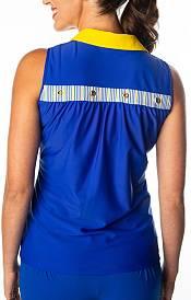 SwingDish Women's Megan Sleeveless Golf Polo product image