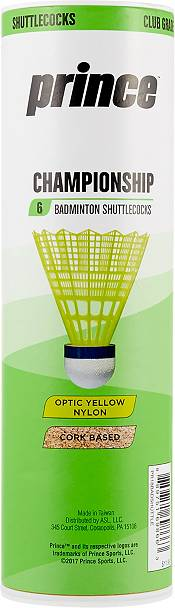 Prince Championship Shuttlecocks - 6 Pack product image