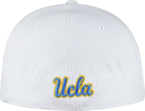 fedeb5379 Top of the World Men's UCLA Bruins White Premium Collection M-Fit Hat