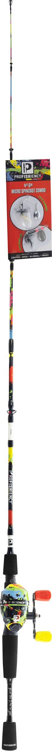 """Lil' Anglers Profishiency 4'6"""" Spincast Combo product image"""