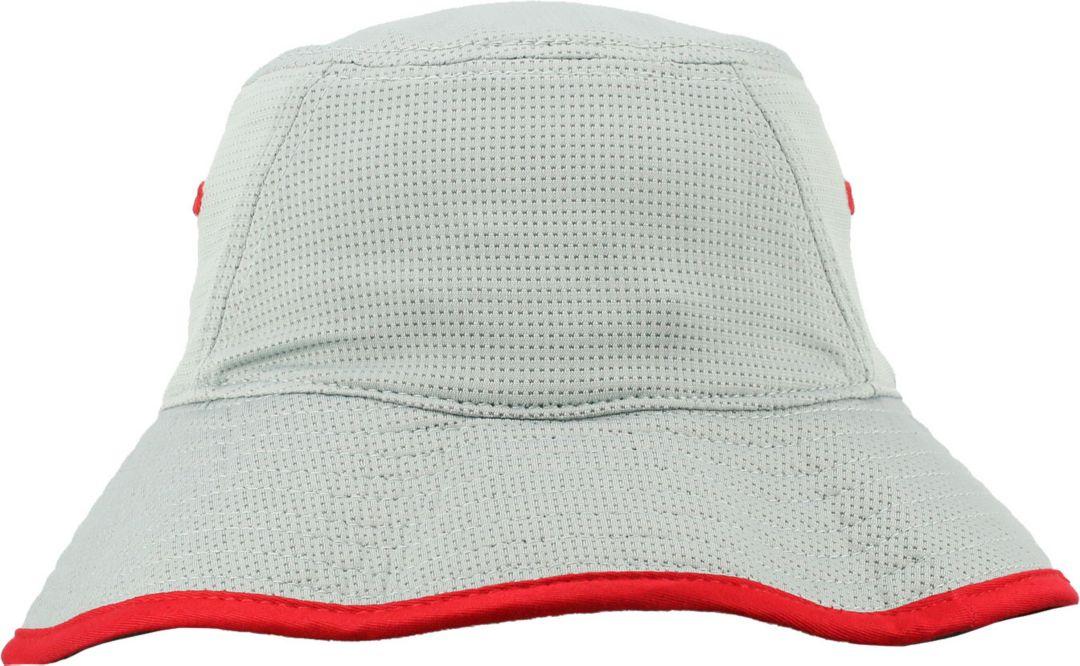 newest a3060 22266 OSU Men s Ohio State Buckeyes Gray Bucket Hat