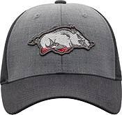 Top of the World Men's Arkansas Razorbacks Grey Powertrip 1Fit Flex Hat product image