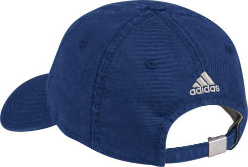 7c002119fea5f adidas Women s Edmonton Oilers Navy Slouch Adjustable Hat