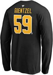 NHL Men's Pittsburgh Penguins Jake Guentzel #59 Black Long Sleeve Player Shirt product image
