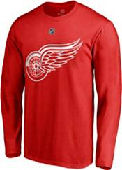 NHL Men's Detroit Red Wings Dylan Larkin #71 Red Long Sleeve Player Shirt product image