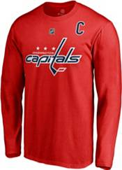 NHL Men's Washington Capitals Alex Ovechkin #8 Red Long Sleeve Player Shirt product image