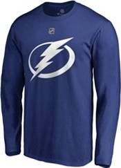 NHL Men's Tampa Bay Lightning Nikita Kucherov #86 Royal Long Sleeve Player Shirt product image
