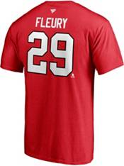 NHL Chicago Blackhawks Marc-Andrew Fleury #29 Red Player T-Shirt product image