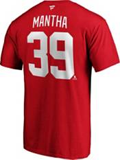 NHL Men's Detroit Red Wings Anthony Mantha #39 Player Red T-Shirt product image