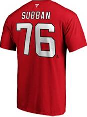NHL Men's New Jersey Devils P.K. Subban #76 Red Player T-Shirt product image