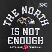 NFL Men's Baltimore Ravens 2019 AFC North Division Champions T-Shirt product image