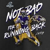 NFL Men's Baltimore Ravens Playoffs 2019 'Not Bad For A Running Back' Black T-Shirt product image