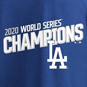 MLB Men's 2020 World Series Champions Los Angeles Dodgers Milestone Schedule T-Shirt product image