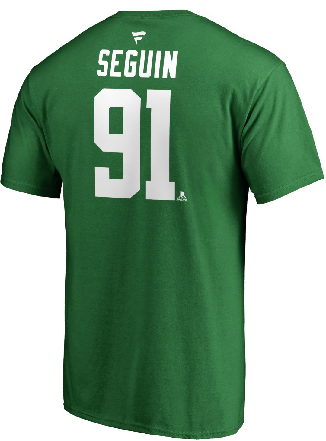 pretty nice 77017 24162 NHL Men's Dallas Stars Tyler Seguin #91 Green Player T-Shirt