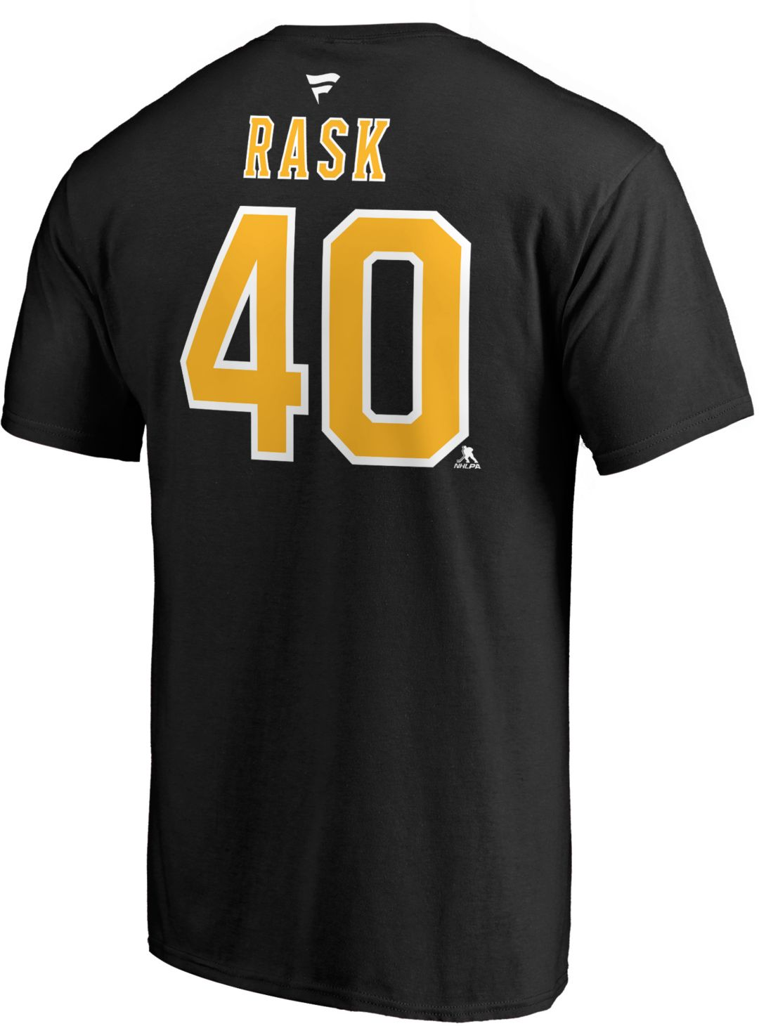detailed look f193e cc341 NHL Men's Boston Bruins Tuukka Rask #40 Player T-Shirt