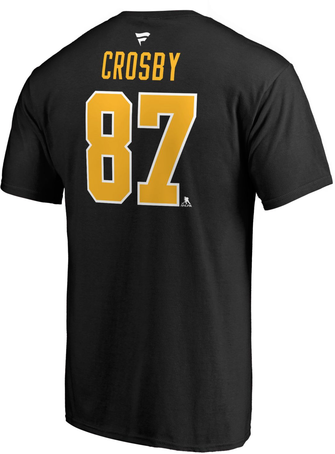 ebac7318f8d NHL Men's Pittsburgh Penguins Sidney Crosby #87 Black Player T-Shirt ...