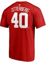 NHL Men's Detroit Red Wings Henrik Zetterberg #40 Red Player T-Shirt product image