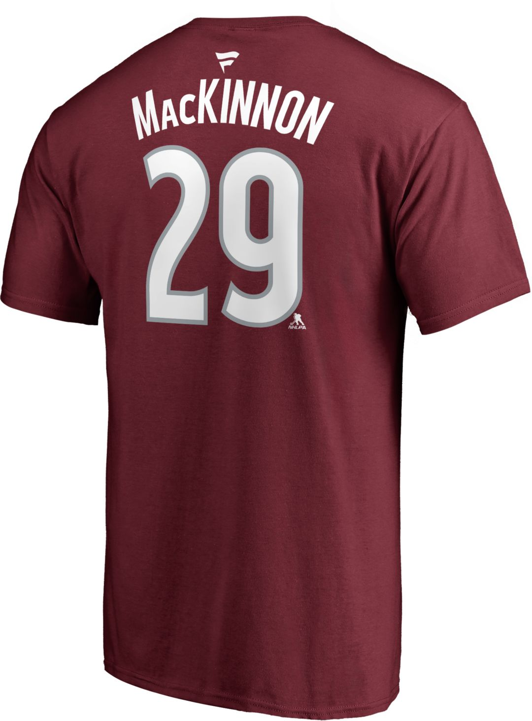 info for 61df8 7fa5b NHL Men's Colorado Avalanche Nathan MacKinnon #29 Maroon Player T-Shirt
