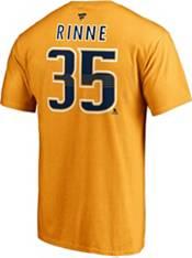 NHL Men's Nashville Predators Pekka Rinne #35 Gold Player T-Shirt product image