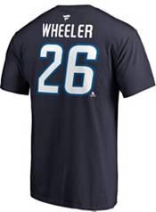 NHL Men's Winnipeg Jets Blake Wheeler #26 Navy Player T-Shirt product image