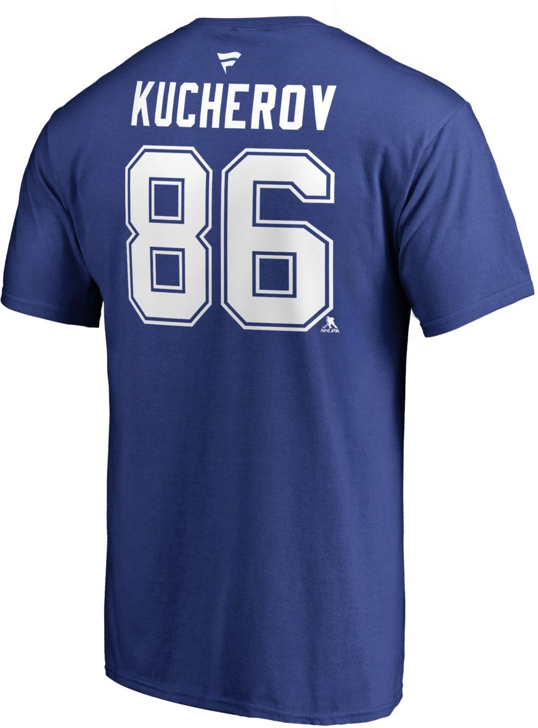 cheap for discount 87986 1f90a NHL Men's Tampa Bay Lightning Nikita Kucherov #86 Royal Player T-Shirt