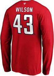 NHL Men's Washington Capitals Tom Wilson #43 Red Long Sleeve Player Shirt product image