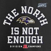 NFL Men's Baltimore Ravens 2019 AFC North Division Champions Long Sleeve Shirt product image