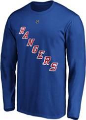 NHL Men's New York Rangers Mika Zibanejad #93 Royal Long Sleeve Player Shirt product image