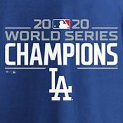 MLB Men's 2020 World Series Champions Los Angeles Dodgers Logo Long Sleeve T-Shirt product image