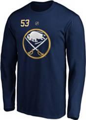 NHL Men's Buffalo Sabres Jeff Skinner #53 Navy Long Sleeve Player Shirt product image