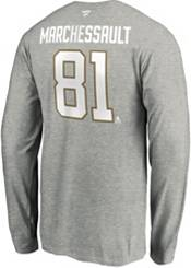 NHL Men's Vegas Golden Knights Jonathan Marchessault #81 Heather Grey Long Sleeve Player Shirt product image