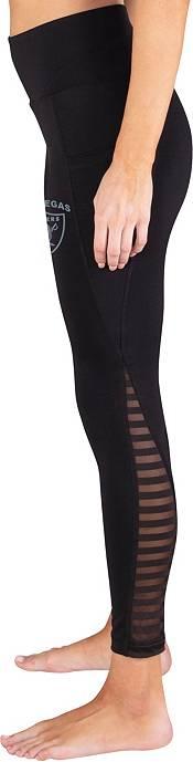 Concepts Sport Women's Las Vegas Raiders Black Frontline Leggings product image