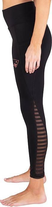 Concepts Sport Women's New England Patriots Black Frontline Leggings product image