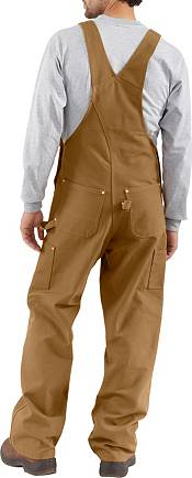 Carhartt Men's Unlined Duck Bibs (Regular and Big & Tall) product image