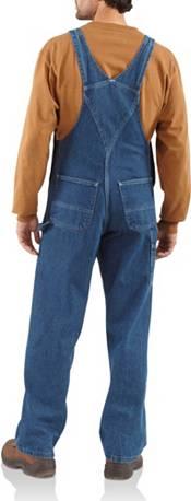 Carhartt Men's Washed Denim Bibs (Regular and Big & Tall) product image