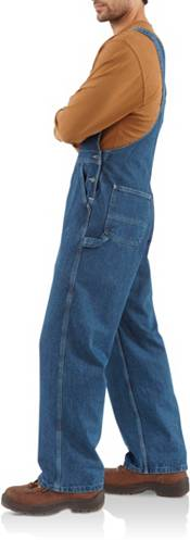 Carhartt Men's Washed Denim Bibs (Regular and Big & Tall) product image