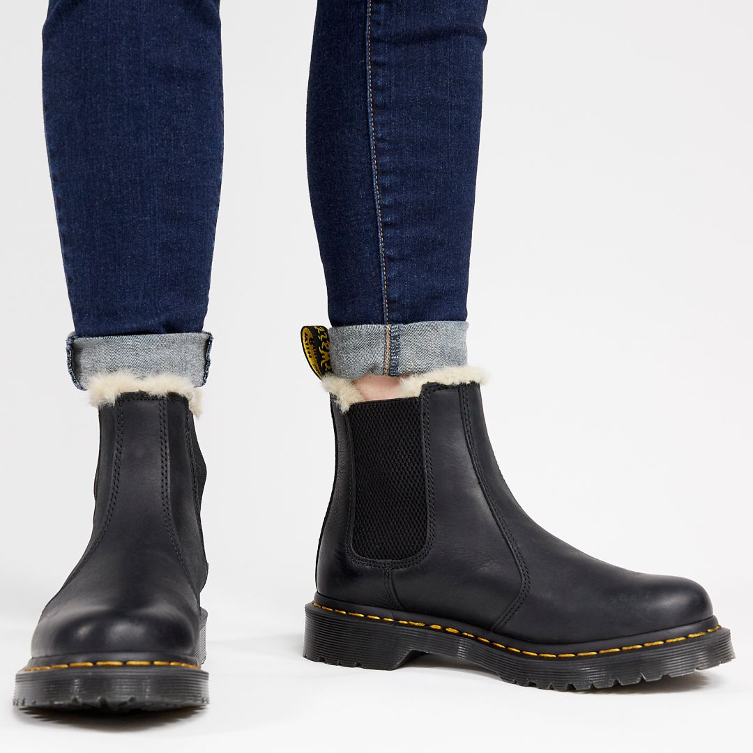 another chance store stable quality Dr. Martens Women's 2976 Leonore Lined Chelsea Winter Boots