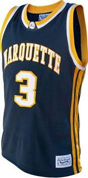 Original Retro Brand Men's Dwyane Wade Marquette Golden Eagles #3 Blue Retro Basketball Jersey product image