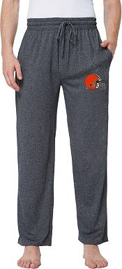 Concepts Sport Men's Cleveland Browns Quest Charcoal Jersey Pants product image